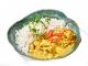 Pui curry cu orez