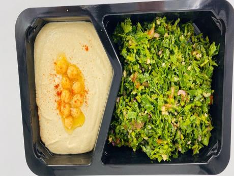 Hummus cu tabouleh