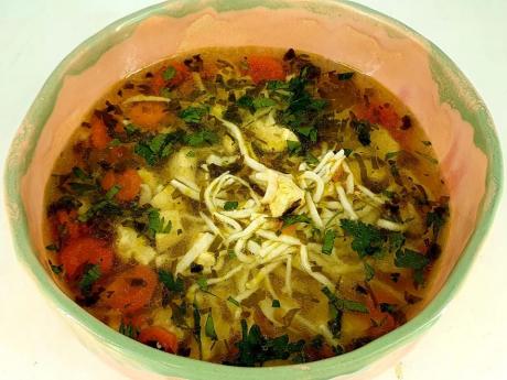 Family Pack: Supă de pui cu tăiței de casă