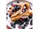 Clătite cu dulceață de afine
